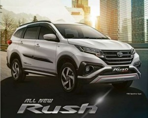 Toyota All New Rush Serang