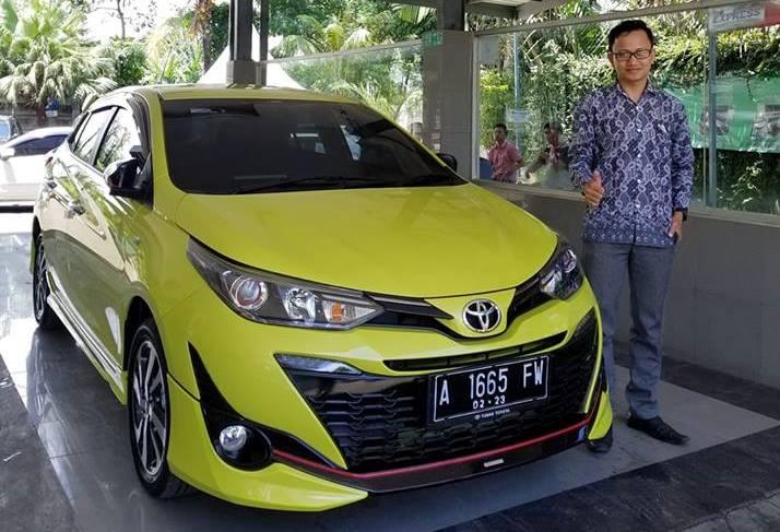 Toyota all New Yaris 2018 ready on serang